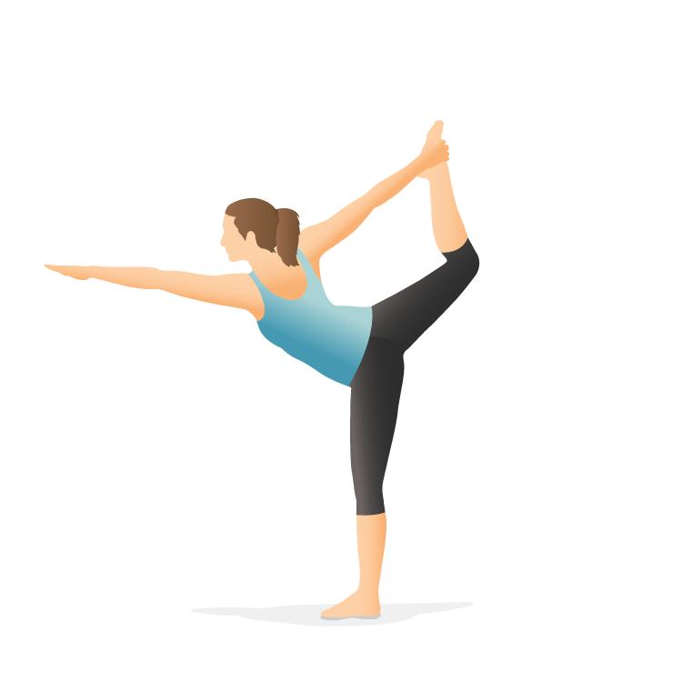 یوگا - حرکت رقاصه